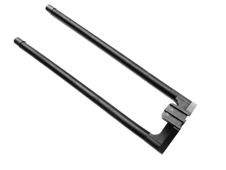 AR15 Tactical Quad Rail Handguard Strumento di rimozione Delta Ring Wrench Strumento di rimozione Handguard Remover fucile Gunsmithing Wrench