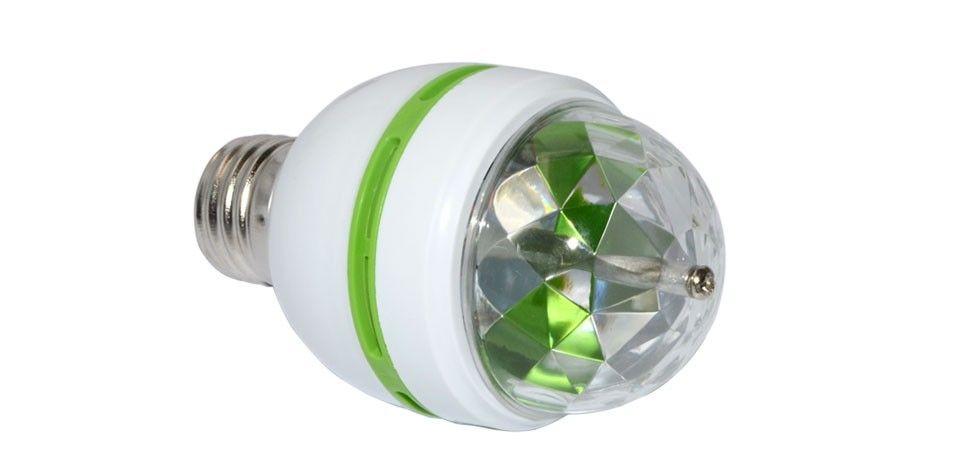 mini LED laser light E27 B22 RGB 3W AC85-265V RGB Stage Light bulb Change DJ Disco Club Party PUB KTV sing