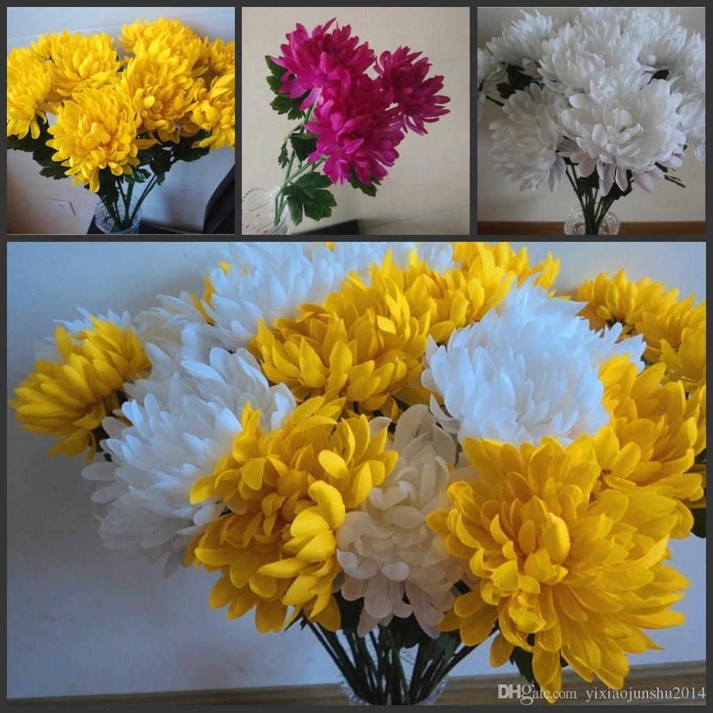 Discount Silk Hydrangea Flower Ball Decorateive Flower Real Touch