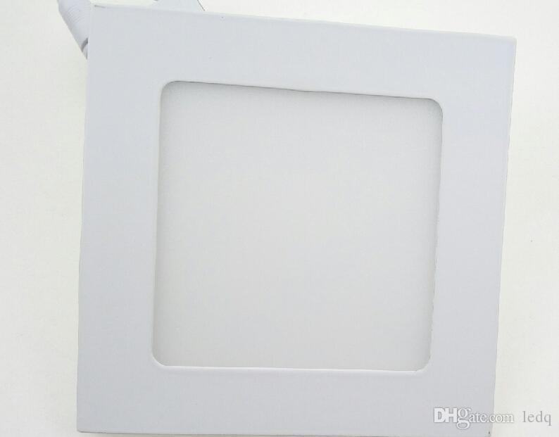 Square LED Panel Down Light Lampara 110V 220V for Office Modern Home Lighitng Decoration Bright 24W 18W 15W 9W 12W 6W 3W 4W Ceiling Lampen