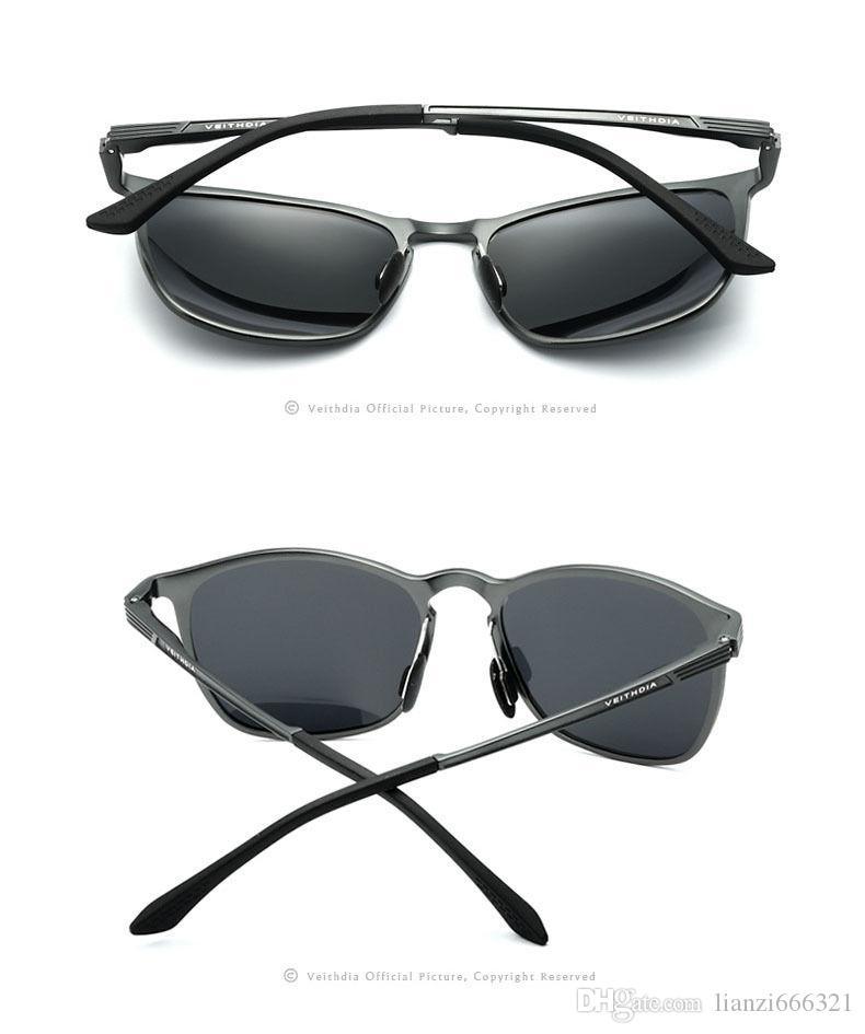 멋져 !! 뜨거운 브랜드 새로운 2017 새로운 알루미늄 HD 극화 선글라스 레트로 빈티지 운전 낚시 안경 패션 남자 선글라스 HJ0016