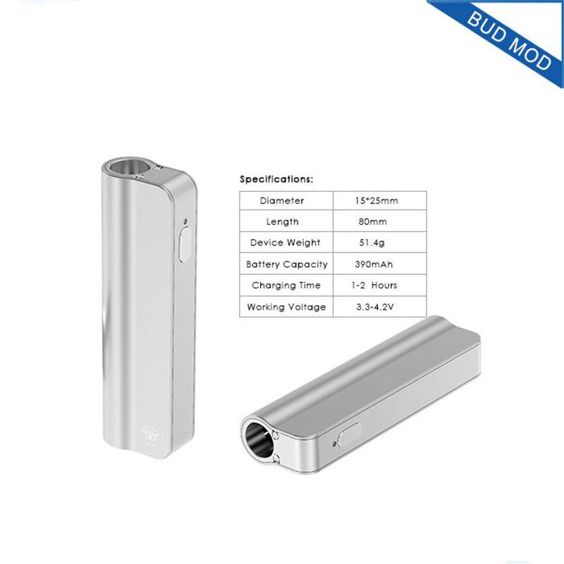 Wholesale bud mod mystica vv mini vaporizer картридж масло bud стартер комплект 390mah box mod gold vape pen cartridges для распылителя CE3