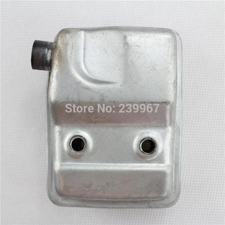 Exhaust muffler for Chinese 1E32F 32F hedge trimmer