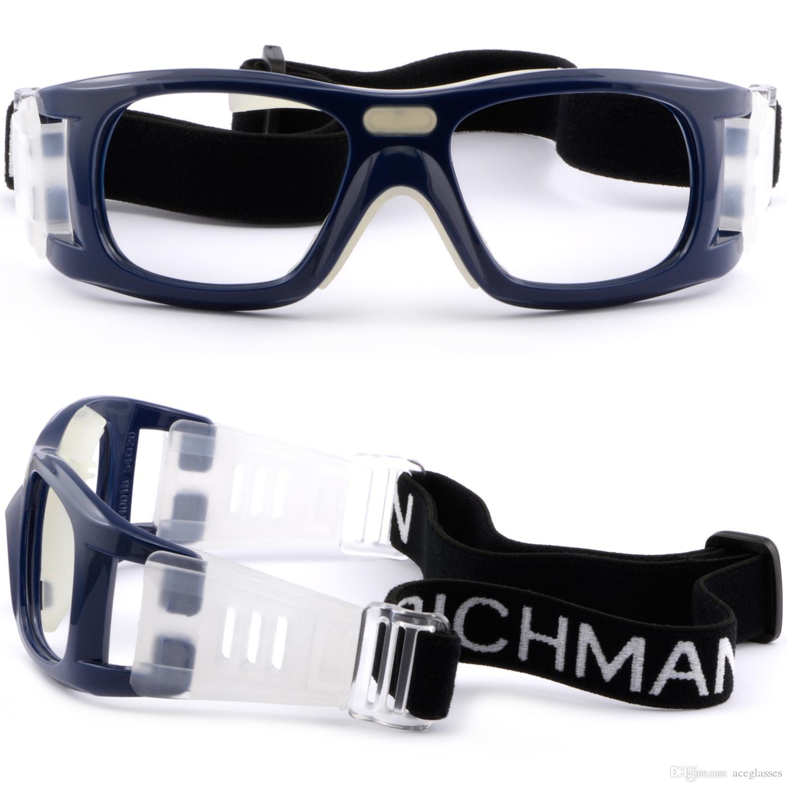 7ae288b12 Compre Óculos De Proteção Dos Esportes Das Mulheres Dos Homens Frame Da  Prescrição Dos Vidros Da Marinha Do Basquetebol Dos Vidros De Aceglasses,  ...