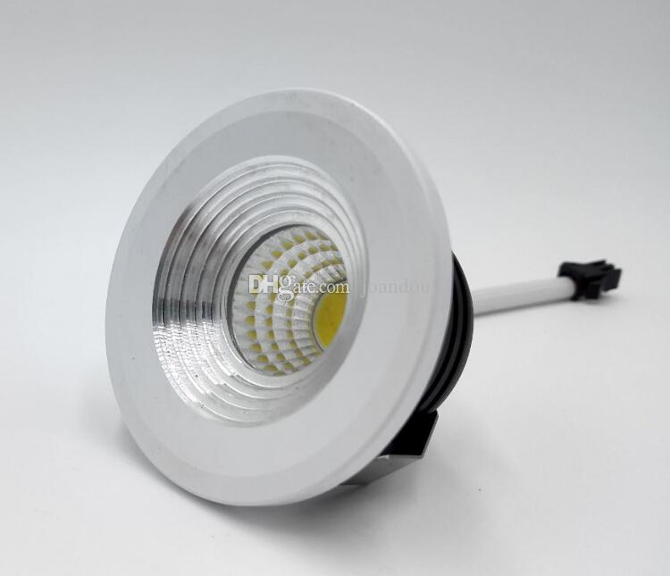 Wholesale Price 5W Dimmable Mini LED ceiling down light White Round Spot lights Living kicthen lamps AC85-265V