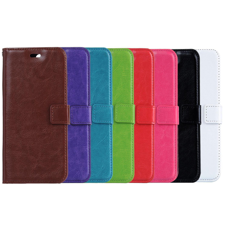 dd3959256df Carcasas Para Celular Cartera Funda De Cuero De La PU Bolsa Con Ranura Para  Tarjeta Para IPhone Para Samsung S4 S5 S6 Nota 3 4 Borde S6 Iphone 6 Plus  IPhone ...