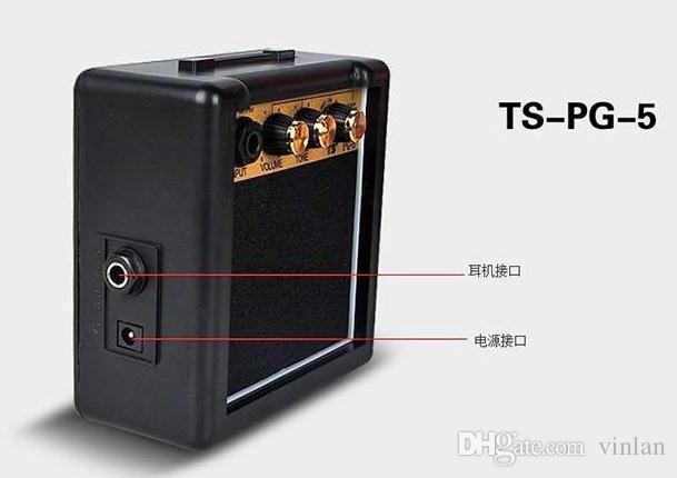 Portable mini Amplifier 5W Acoustic electric Guitar Amplifier Guitar Parts musical instruments