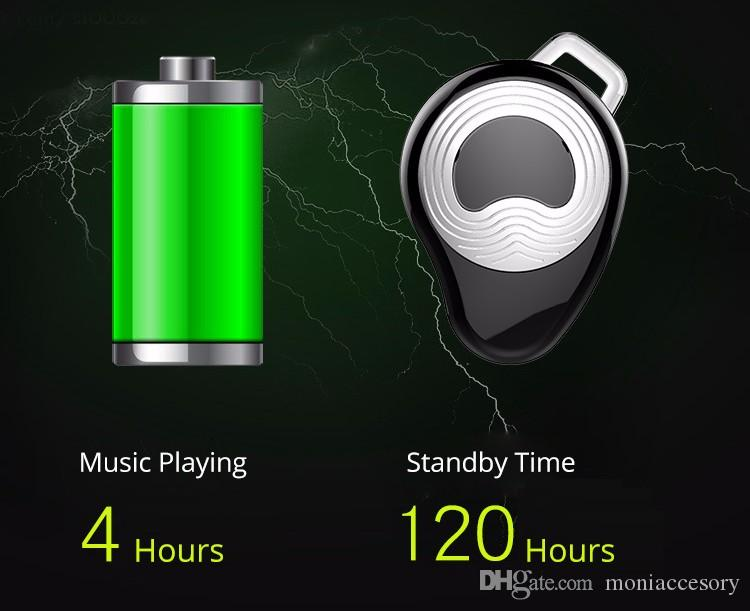 ZEALOT E3 Drahtloser Bluetooth Ohrhörer Kopfhörer mit Freisprechmikrofon Bluetooth 4.1 CSR Chip Mini Headset Lange Standby-Kopfhörer
