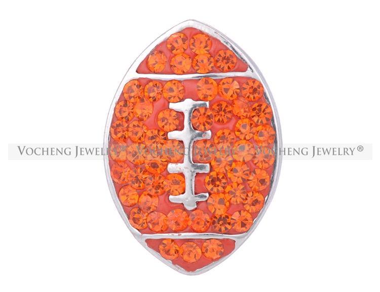 VOCHENG NOOSA 18mm Bling Cristal interchangeable bouton de cristal bijoux Vn-1064