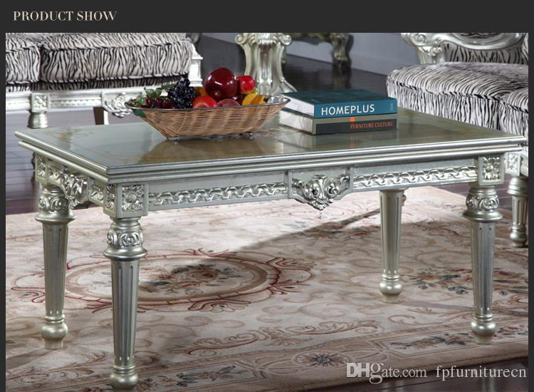 Antique furniture manufacturer-French classic coffee table European coffee table