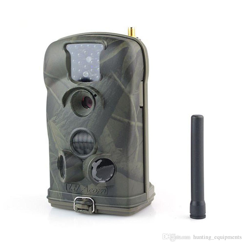 Ltl Acorn 6210MG 12MP Hunting Camera HD Video 940nm MMS Scouting Trail Camera GSM GPRS Wildlife Hunting Surveillance Camera W/Solar Charger