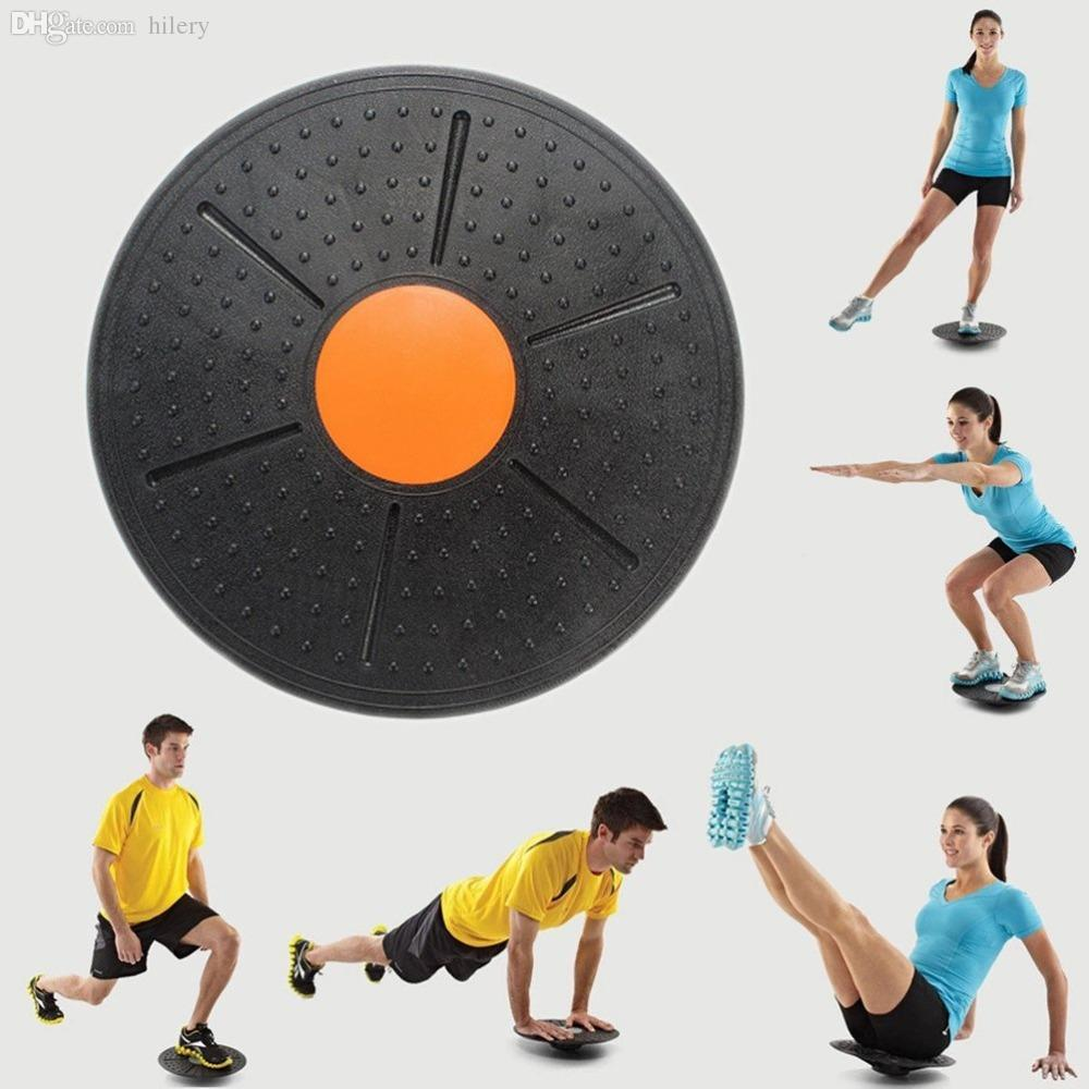 Balance Board Workout: 2017 Wholesale Round Wobble Balance Board Stability Disc