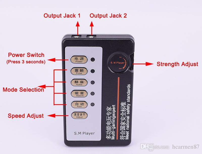 Maschio Electro Shock 4 Pz Shock Elettrico Anelli Del Pene Miglioramento Electro Estensioni Del Pene Massaggiatore Fetish Bondage BDSM Giocattolo Del Sesso Elettrodo Gear