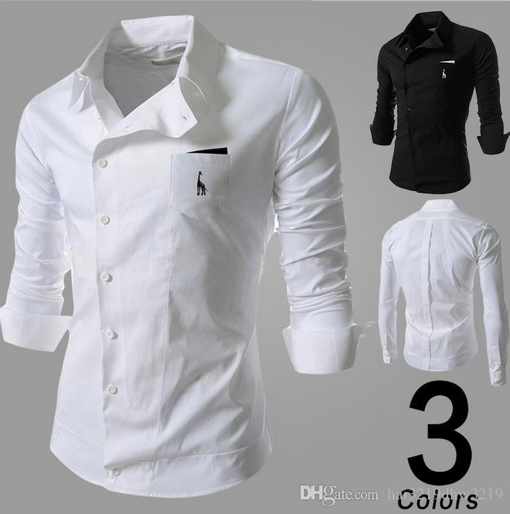 Discount Mens Shirts Hot Mens Comfortable And Wrap Casual Shirts ...