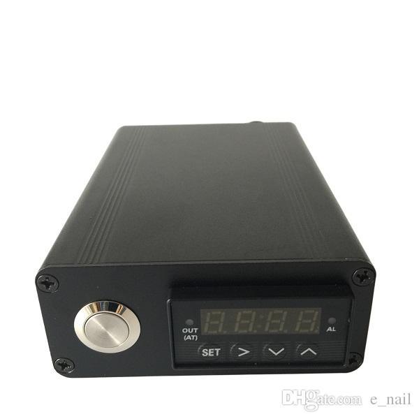 2016 Kit Elettronico DIY Smoker Coil Aggiornamento 6 in 1 Ti / Qtz Hybird Nail con Vetro Bong Vapor Wax Dry Herb