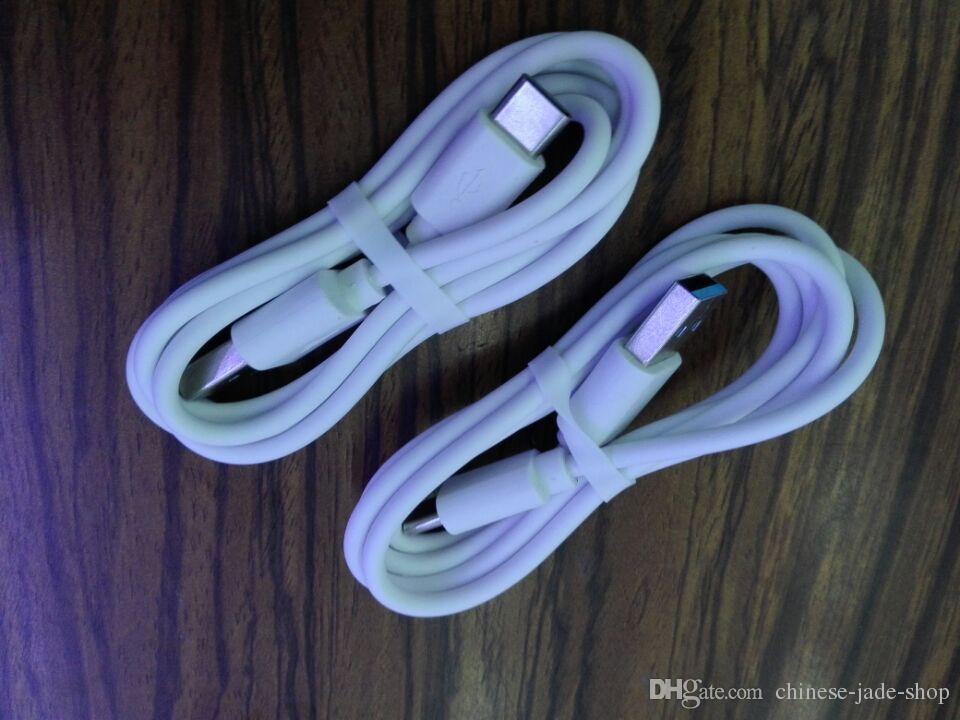 1.0a Vit 1m 3FT USB 3.1 Typ C till USB 2.0 Man Datum Laddningskabel USB C 3.1 /
