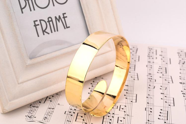Gold Silver Women Fashion Jewelry Adjustable Upper Hand Arm Bangle F21 Cuff Bracelet Armreif Armband Armspange Oberarmreif Bangle Armreifen