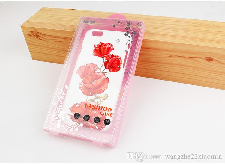 Top Class Custom Logo PVC Packaging Box for iphone 7 zte zmax pro z981 Cell Phone Case with Plastic Inner Tray with