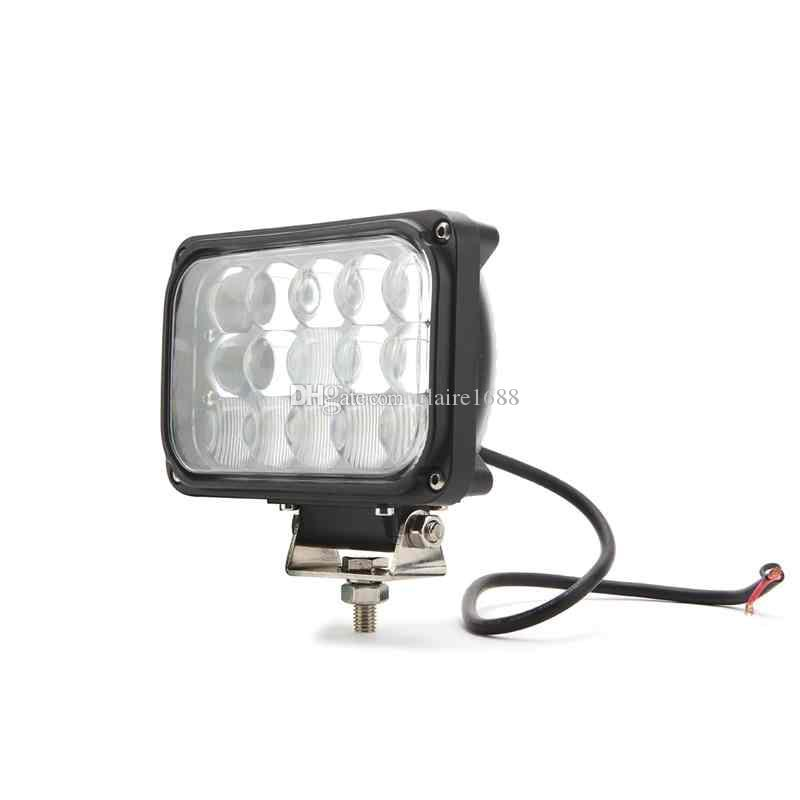 factory price 6.5 inch 45w led driving light 3375 LM Super bright tractor lamp Off road vehicle,trucks