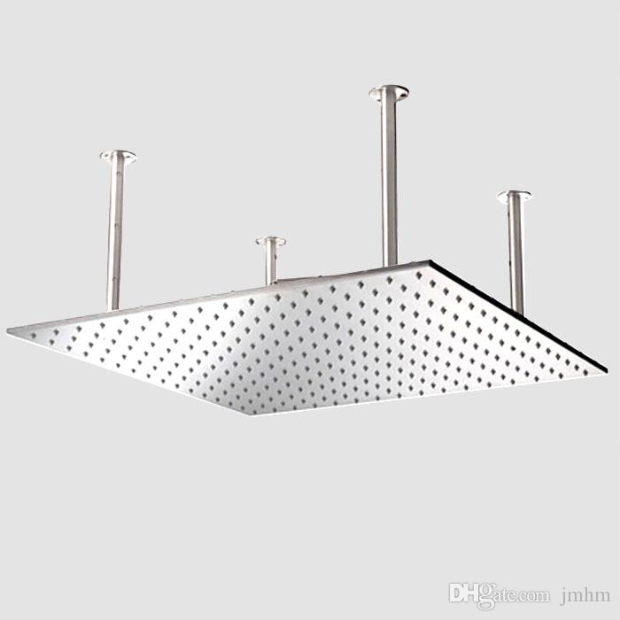 2018 20 Inches Stainless Steel Rainfall Shower Head Super Big Size High Flow Conceal Install Ceiling Rain From Jmhm 429 49 Dhgate Com