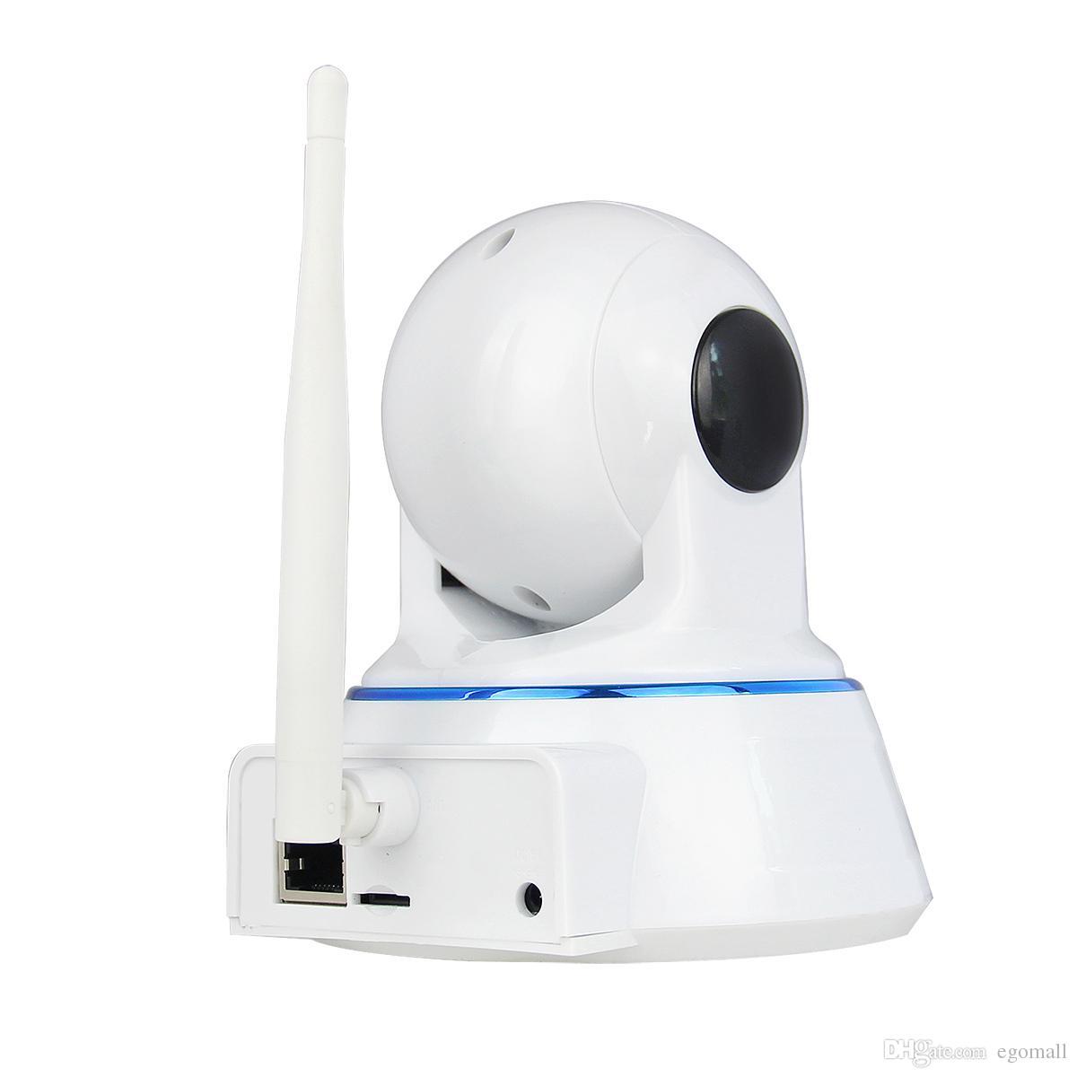 Escam QF002 HD 720P IP cámara de visión nocturna 3.6mm len H.264 1/4 CMOS P2P WIFI IR cámara CCTV Mini Dome