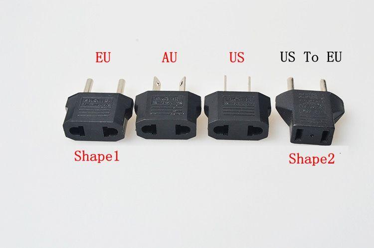 US To EU Plug Adapter Travel Charger Adaptador Converter Universal AC Power Electrical Plug Socket wholesale