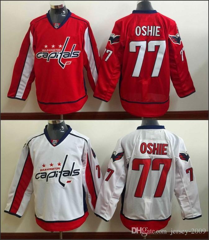 2016 MEN Washington Capitals Jerseys 77 TJ Oshie Jersey White Red Ice Hockey  Jersey Third Jersey Embroidery Stitched S 3XL UK 2019 From Jersey 2009 cb4fbad3c