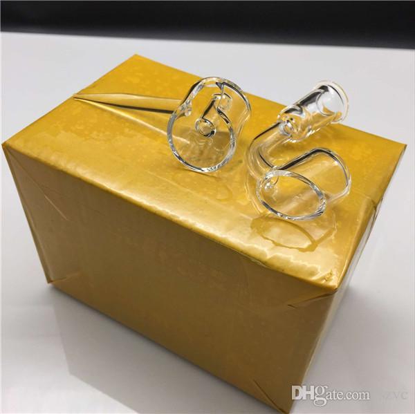 18mm 14mm quartz banger carb cap honey bucket side handle quartz carb cap male female domeless nail oil rigs glass bongs water pipes