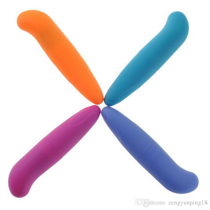 Potente Mini G-Spot Vibrator para iniciantes, a estimulação do clitóris Bala pequeno, brinquedos adultos do sexo para as mulheres Produtos sexo para mulheres