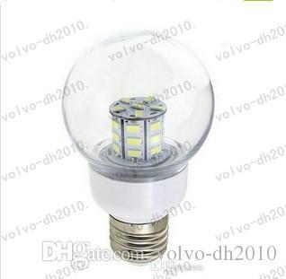 Le più nuove E27 5730SMD 27LED 7W LED Lampade 12 V Bianco Freddo Caldo Bianco Lampadina Luci Led LLFA227