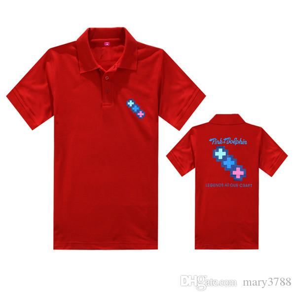 Numéro de chemise de dauphin-polo rose T-Shirt Homme Breaking Bad T-shirt Hommes Walter Blanc Tops de cuisine Heisenberg Hommes Tops T-shirts 2016 Summer Fashion Nouveau