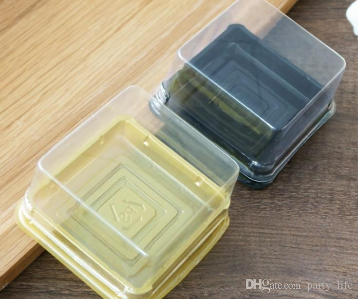Plastic Cake Box Single Individual Cake Boxes Bottom Plastic