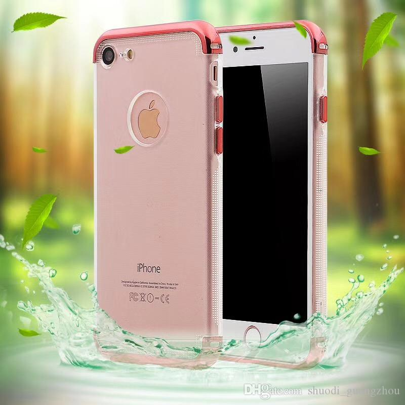 Luxury colorful Product Clear Bumper TPU 3 in 1 Hard Cell Phone Case For Samsung J530 J730 J5 J7 2016 J5 J7 2017
