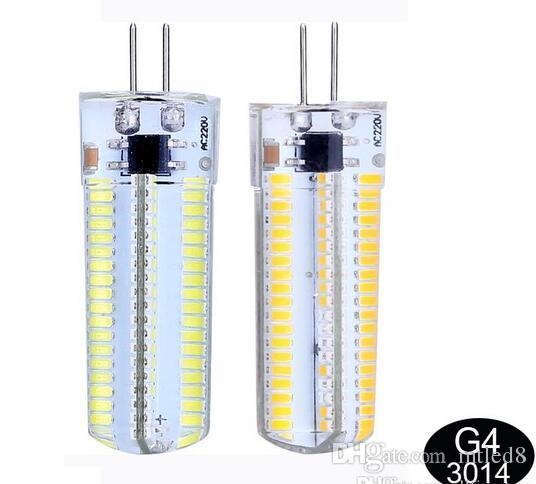 Светодиодная лампа Е11 / Е12 / E14 / E17 / G4 / G9 / BA15D света мозоли шарика AC 220V 110V 120V 7W 12W 15W SMD3014 СИД света 360 градусов 110V / 220V прожектор лампы