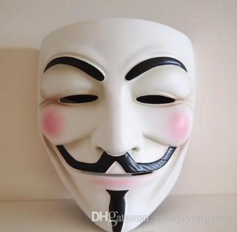 Masquerade Masks for Halloween Ball Mask Full Face Wholesale Movie Props Mardi Gras Scary Horror Party Costume V for Vendetta Mask for Sale