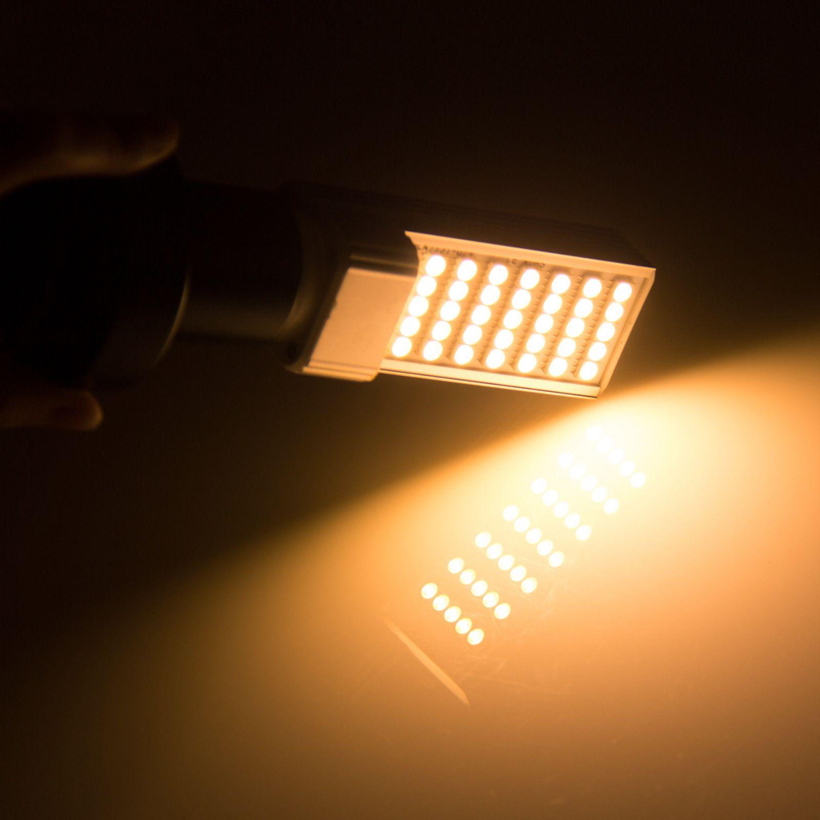 Horizontal Plug luces de bulbo maíz llevado E27 G24 G23 SMD 5050 180 degeree AC 85-265V 6W 7W 9W 10W 12W 14W 15W 60 LED llevó la iluminación de DHL