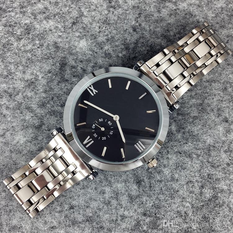 Moda aço inoxidável relógio de quartzo para homem / mulher japão movimento relógios rosa de ouro relógios de pulso vida marca à prova d 'água relógio masculino hot items