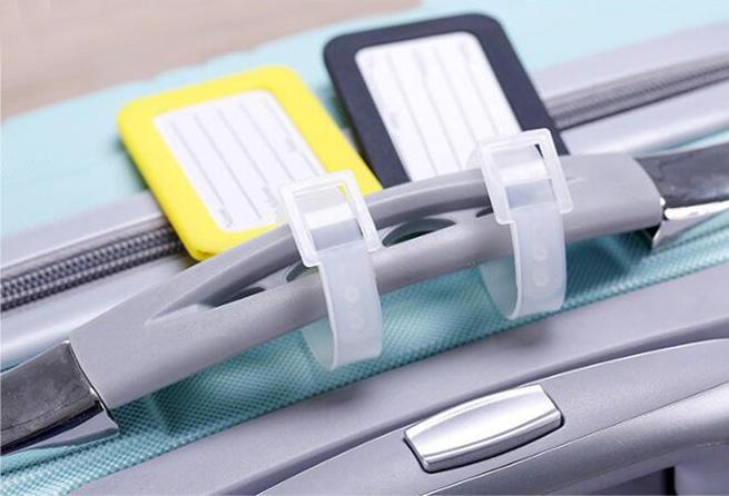 Akcesoria turystyczne Tag bagażowy Hard PP Bagaż Check in Card Rozmiar 9 Przez 5 Nazwa Torba kart Torba Tag Kolory