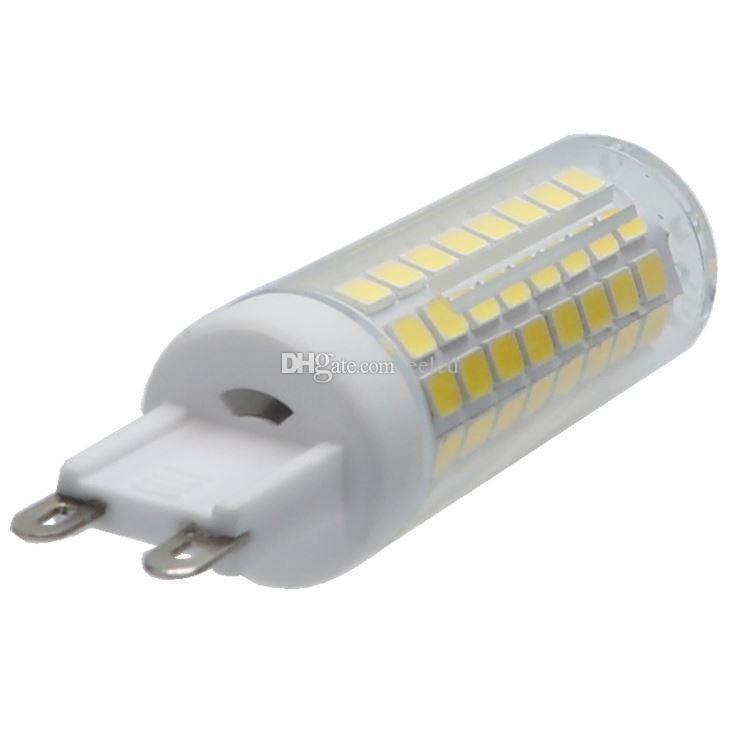 Super Brillante 6W G9 2835 SMD 102 LED Maíz Blub Chandelier Crystal Light Reemplace la lámpara halógena 220V 110V