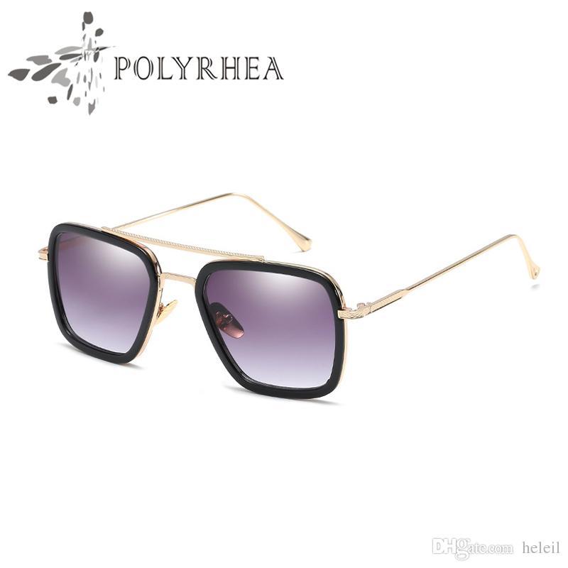 caaf5e70e4 Hot New Men Brand Designer Sunglasses Titanium Sunglasses Retro Style  Square Frame Sun Glasses UV400 Lens Glasses With Case And Box Designer  Eyeglasses ...