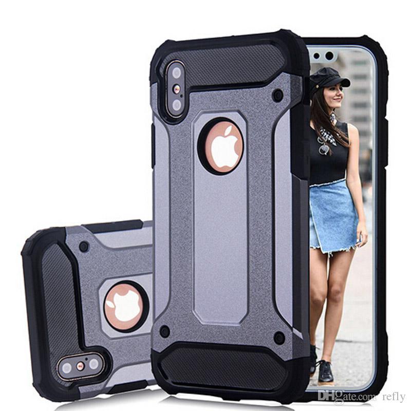 SGP Hybrid Slim Armor Phone Case Defender Shockproof Protector Cases for Sansumg S7 Edge S8 Plus iPhone 7 8 Plus iPhone X