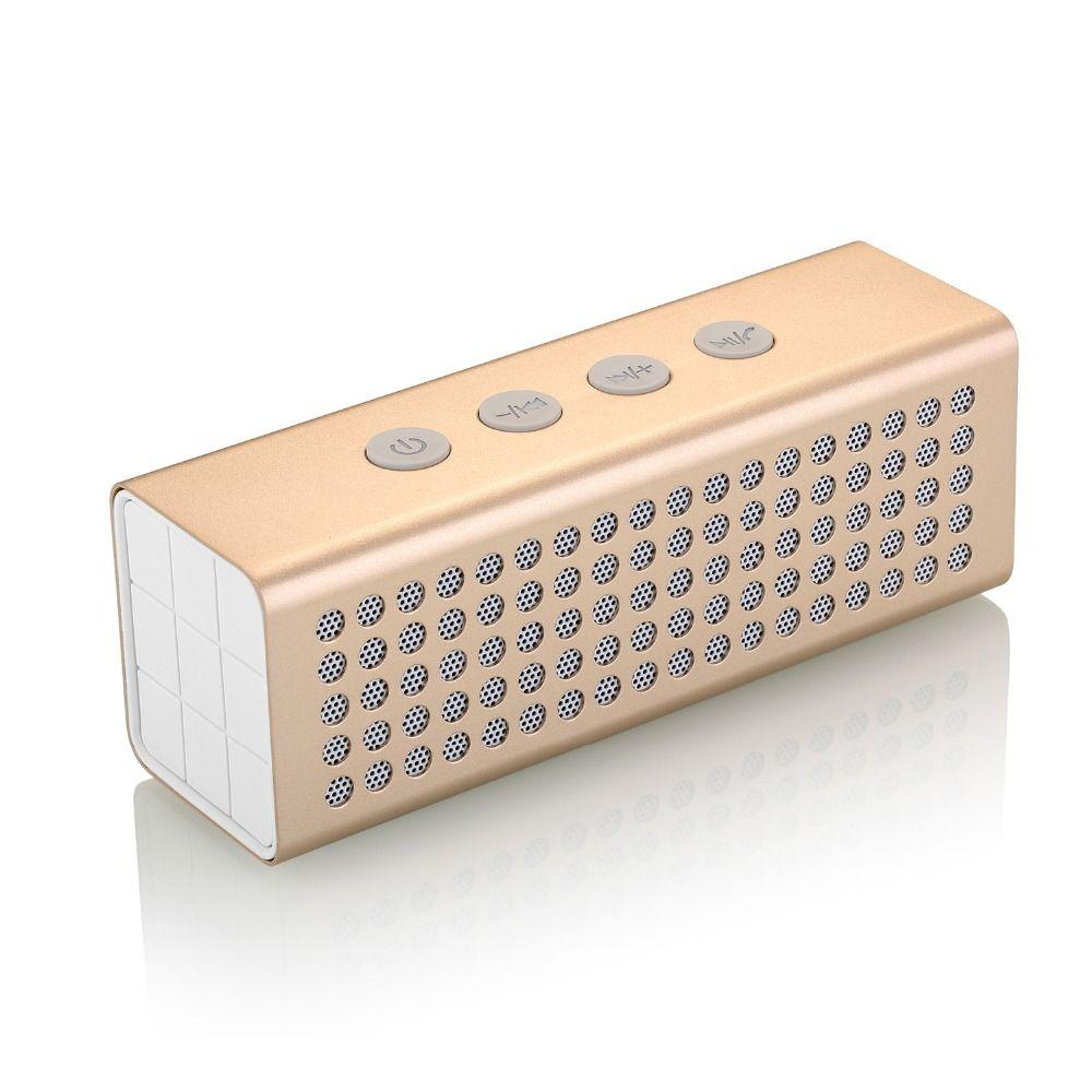 2019 Metal 3D Surround Sound Portable Bluetooth Speaker AJ91 20W Big Power 4400mAh Professional Wireless TF USB Bank AJ 91 From Senden