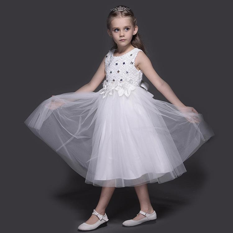 Wedding Gown Fashion Show: 2018 Best Selling Girls Evening Gown Children Fashion Show