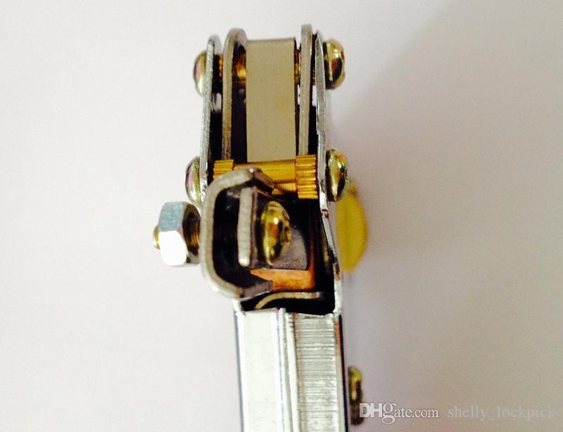 Güçlü Manuel Kilit Seçim Silah Çilingir Araçları Kapı Kilidi Açacağı Kilit Seçim Aracı Set Yumru Anahtar Asma Kilit