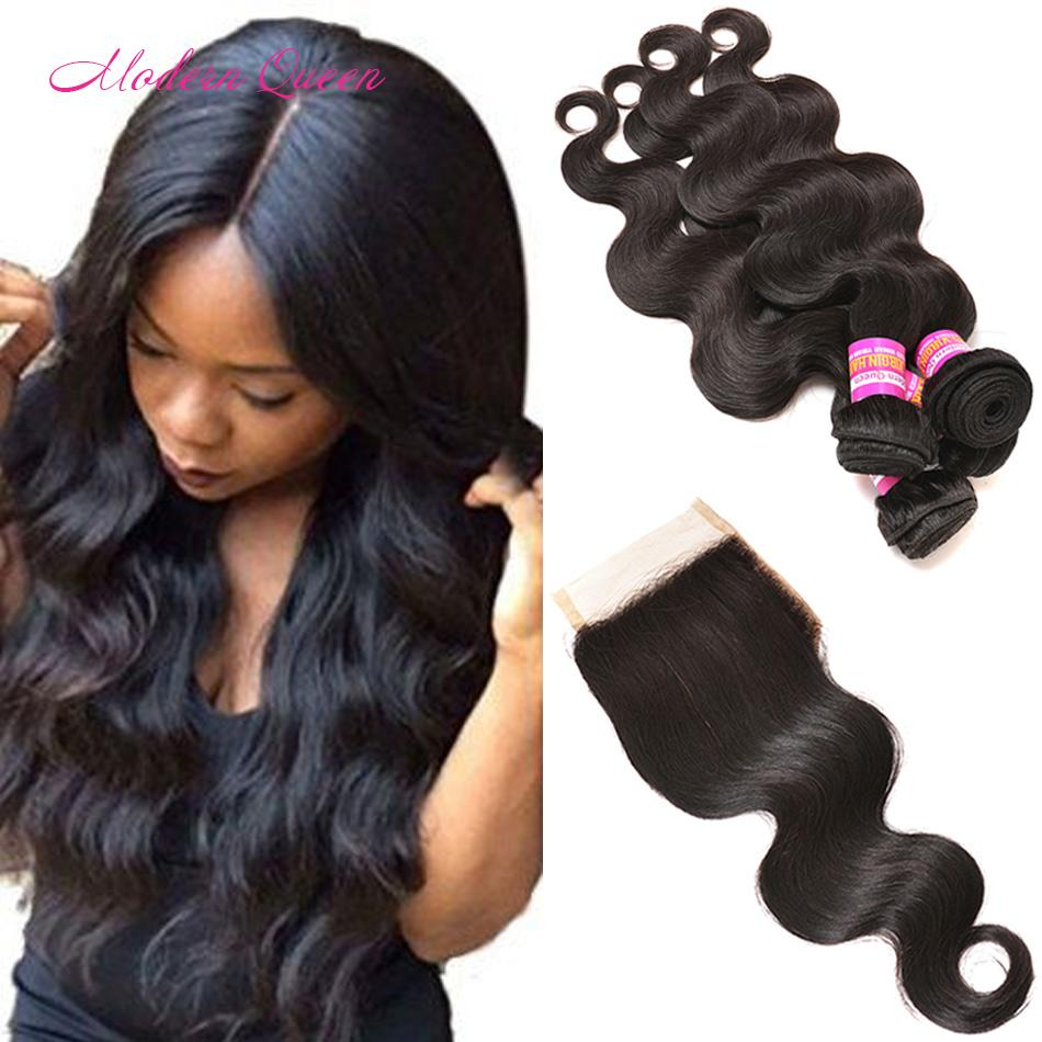 Raw indian hair bulk body wave human weaves 4 bundles with lace raw indian hair bulk body wave human weaves 4 bundles with lace closure middle free three part for women indian human hair extension deals discount human pmusecretfo Gallery