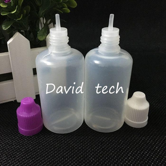 il trasporto libero bottiglie di plastica all'ingrosso sacco tappo a prova di bambino bottiglia contagocce, 50ml occhio bottiglia di plastica / contagocce