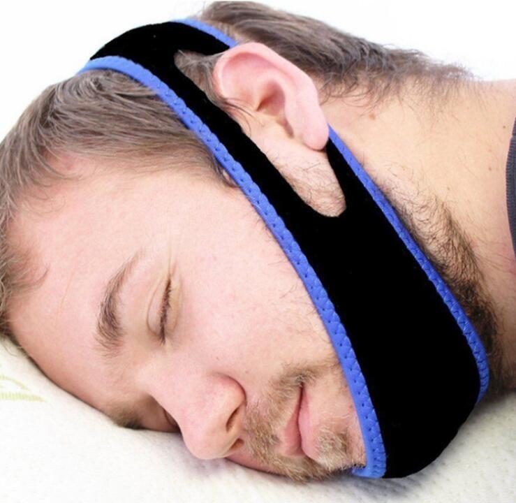 Anti Snoring Chin Strap Neoprene Stop Snoring Chin Support Belt Anti Apnea Jaw Solution Sleep Device 2017