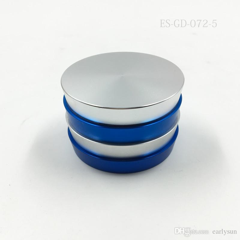 New Colorful puff pastry Herbal Herb Tobacco Grinder Spice Crusher Muller Hookah Shisha Chicha Accessory Grinder Tool.ES-GD-072