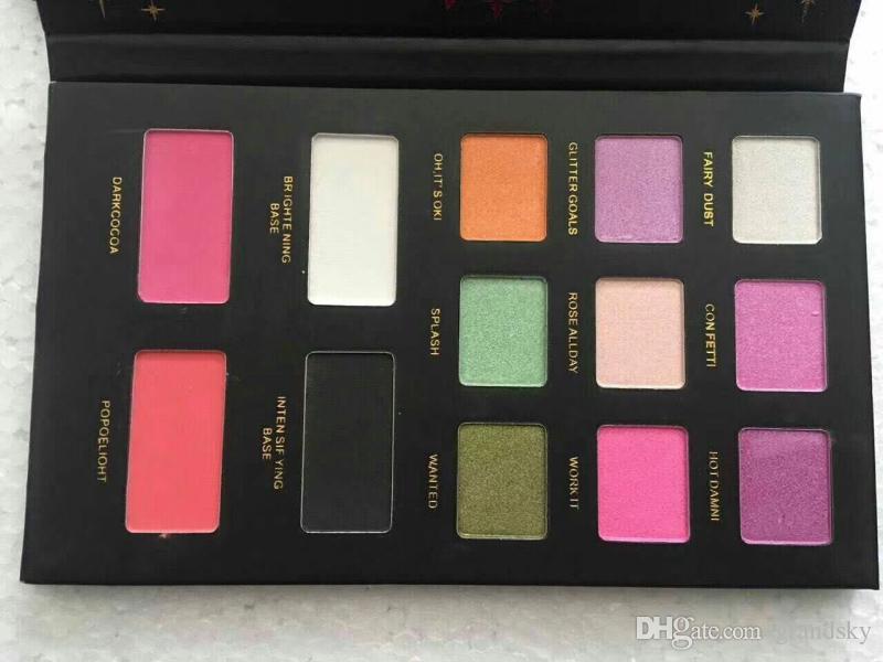 Célèbre Marque Date Glitter Bomb2 PRISMATIC Fard à Paupières Palette 13 couleur Maquillage Des Yeux Ombre DHL Livraison Rapide top qualité