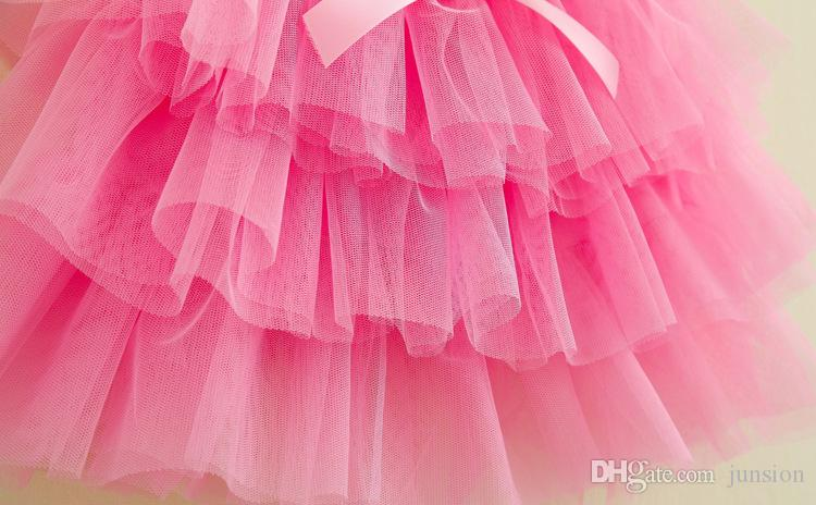 Children Tutu Dress Girls Skirt Size 8 Skorts For Toddlers Ballet Skirt 3layers Children 11 Colour Pettiskirt 2016 New Hot Sale